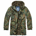 Brandit 3137.14 Mens BW German Army Military Field Jacket Parka Flecktarn Camo