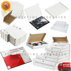 C4 C5 C6 Size White PIP Royal Mail Large Letter Fit Cardboard Postal  Boxes