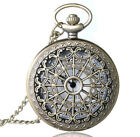 NEW POCKET WATCH CHAIN STEAMPUNK MECHANICAL STYLE SKELETON RETRO WATCHES UNISEX