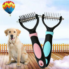 Large Professional Pet Grooming Undercoat Rake Comb Dematting Tool Cat Dog Brush