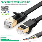 Внешний вид - Cat7 Ethernet Flat Network SSTP LAN Cable 26AWG 10Gbps 25FT 50FT 75FT 100FT LOT