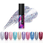 LILYCUTE 5ml  Sequins Gel Polish Shining Soak Off Nail UV Gel Varnish
