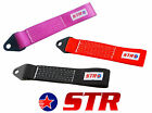 STR 5000kg Car Tow Hook Strap Loop Rally Competition Drift Touring - All Colours