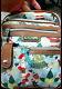 CHRISTMAS RARE Messanger BAG ZIPPERED HOLIDAY PURSE MINT Back Round Pretty photo