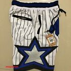 Orlando Magic White 92-93 Throwback Home Adult Basketball Shorts S-2XL