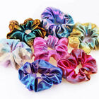 Women Elastic Bronzing Glitter Hair Rope Ponytail Holder Scrunchie Hair Ring New