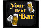 Funny Doormat Novelty Door Mat Birthday Home Office - your text beer cheers bar