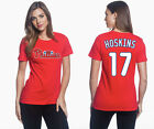 Rhys Hoskins Philadelphia Phillies #17 MLB Jersey Style Women's Graphic T Shirt on Ebay