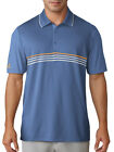 Adidas Climacool 3-Stripe Polo - Trace Royal/Grey/Real Gold