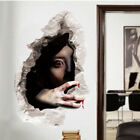 3d Scary Horror Wall Sticker Removable Halloween Party Home Decal Decor Bs