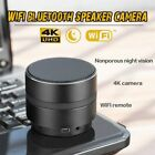 4K Wifi Remote SPY iP Camera Bluetooth Speaker Video Recorder Night Vision Cam