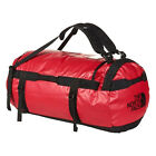 The North Face Basis Lager Duffel klein - Red/Black - Umhängetasche rot