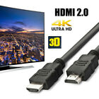 Premium Ultra High Speed HDMI V2.0 Cable 3D HDTV 2160P 4K 10ft For PS3 PS4 X Box