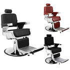 Pro Hydraulic Reclining Salon Barber Chair Heavy Duty Styling Station Equipment