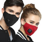 Kyпить Adult PM2.5 Dust Mask Respirator Anti Pollution Air Face Masks Washable Reusable на еВаy.соm