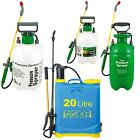Outdoor Garden Knapsack Chemical Weed Killer Fence Water Bottle Pressure Sprayer