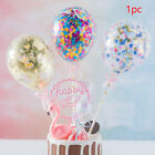 Accessories Decoration Confetti Home Balloon Cake Topper Holiday Party Supplies