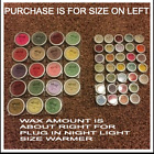 Scentsy Large New Testers ~ Choice of current and retired scents wax warmer