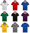 Hot Men's Slim Fit Polo Shirts Short Sleeve Casual Golf T-Shirt Jersey Tops Tee
