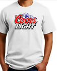Coors Light Beer T-shirt #2 .Short / Long Sleeve Heavy Cotton S-3X Free ship USA