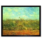Vincent Van Gogh Wheat Field With Lark Old Master Painting 12X16 Framed Print