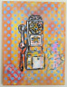 "Retro Payphone Money Original Pop Graffiti Art, Urban Graffiti Art 12"" x 16"""