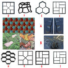 Path Garden Floor Mould DIY Path Maker Garden Lawn Paving Concrete Mold Reusable image