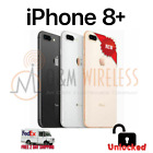 NEW Apple iPhone 8 Plus A1897, Factory Unlocked - All Colors & Capacity