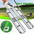 UK Acrylic Golf Putting Mirror Swing Trainer Alignment Portable Training Aid