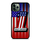 US FLAG Harley Davidson Logo For iPhone 6/6s 7 8 Plus X/XS Max Xr Phone Case $15.9 USD on eBay