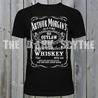 Arthur Morgans Outlaw Whiskey T-Shirt Van Der Linde Tee Red Dead  Redemption