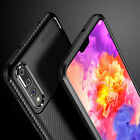 Case for Huawei P30 Pro P30 Shockproof Silicone CARBON FIBRE Protective Cover