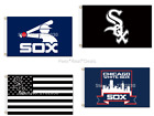 Chicago White Sox Flag Polyester 3x5ft Mancave Baseball NEW! FAST SHIPPING $30 on Ebay