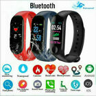 M3 Smart Wristband Bracelet Watch Heart Rate Monitor Blood Fitness for Android