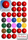 Snooker BALLS STICKERS Decoration Fun Kids Sports Player Table Cues £2.29 GBP on eBay