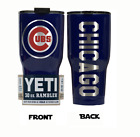 (YETI) Chicago Cubs (Laser Engraved 30 oz)Powder Coat NO VINYL on Ebay