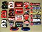 Motorcycle Key Ring Rubber Keychains Suzuki Aprilia Sponsor Sport Mix Logo Gift $3.23 USD on eBay