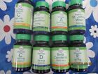 25 plus different vitamins some to include Biotin, Zinc, Garlic, A, E, C, B $2.5 USD on eBay