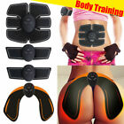Electric Muscle Toner Machine Wireless Toning Belt Simulation Abs Fat Burner Kit image