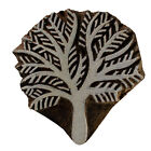 Wooden Printing Stamps Blocks Handmade Textile Scrapbook Pottery Fabric Crafts