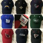 NFL Ball Cap Hat Football New Velcro Back Chargers Falcons Jets Saints Falcons $19.0 USD on eBay