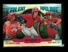 2019 Bowman TALENT PIPELINE pick # card insert rookie prospect trios chrome
