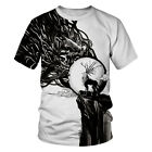 New 3D T-Shirts Mens Womens Funny Octopus Animal Tops Hip Hop Graphic Tee shirt