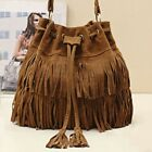 Fringe Shoulder Handbag Women Bag Tassel Crossbody Messenger Hobo Boho PURSE image