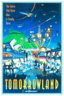 DISNEY WORLD TOMORROWLAND - COLLECTOR POSTER 4 DIFFERENT SIZES  (B2G1 FREE!!)
