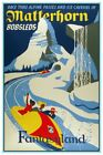 DISNEYLAND MATTERHORN - COLLECTOR'S POSTER 4 SIZES TO CHOOSE FROM