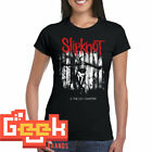 SLIPKNOT TSHIRT - PUNK ROCK WOMENS T SHIRT SMALL-5XL RED/WHITE LOGO image