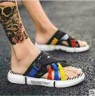 Men Faux Leather Driving Moccasins Loafers Shoes Slippers Flats Casual Beach New