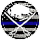 "Buffalo Sabres Thin Blue Line NHL Vinyl Decal - You Choose Size 2""-28"" $16.99 USD on eBay"