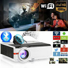 CAIWEI LED Home Theater Video Projector HD 1080P Movie Night Basement USB HDMI